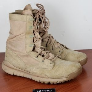 Nike Tactical Desert Police Mens Boots Size 11
